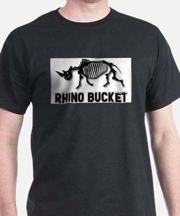 Rhino Bucket Skeleton T-Shirt