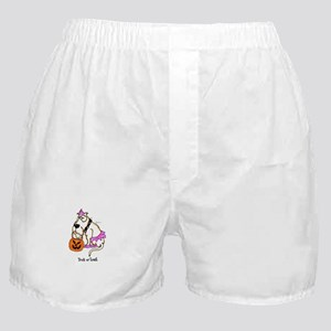 Trick or Treat Dog Boxer Shorts