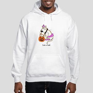 Trick or Treat Dog Hooded Sweatshirt