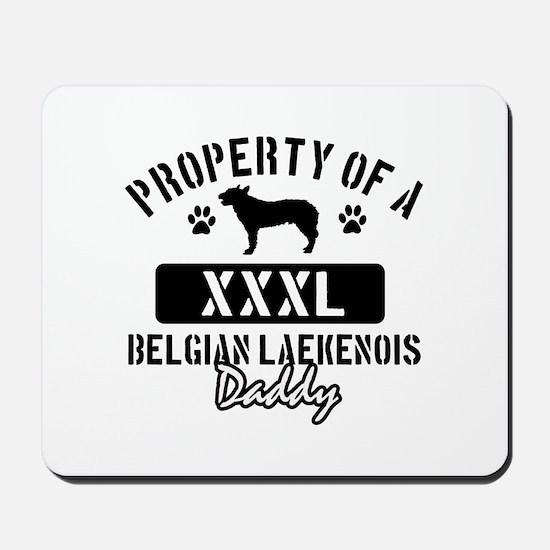 Belgian Laekenois Daddy Designs Mousepad