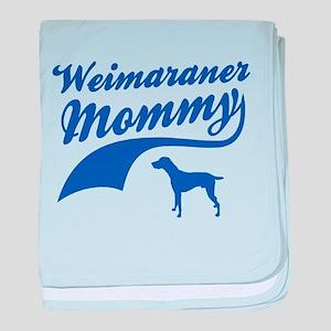 Weimaraner Mommy baby blanket