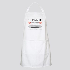 Titanic Ghost Ship (white) Apron