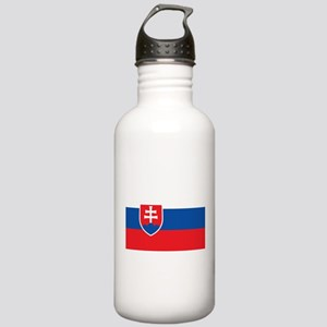 Slovakia Flag Stainless Water Bottle 1.0L