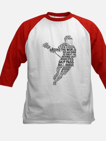 Lacrosse LAX Player Kids Baseball Jersey