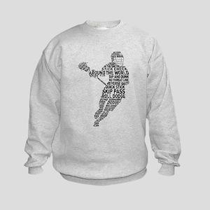 Lacrosse LAX Player Kids Sweatshirt