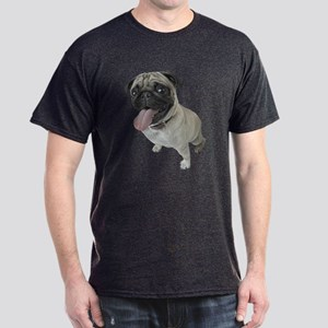 Pug Close-Up Dark T-Shirt