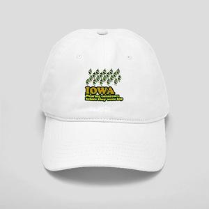 Iowa cornrows before hip Cap