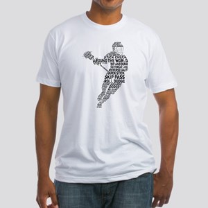 Lacrosse LAX Player Fitted T-Shirt