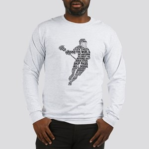 Lacrosse LAX Player Long Sleeve T-Shirt