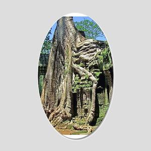 Te Phrom Tree Overgrowth 8 22x14 Oval Wall Peel