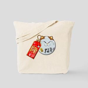 Lucky Neko Tote Bag