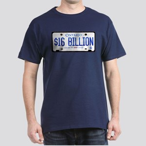 16 Billion Dollar Gear Dark T-Shirt