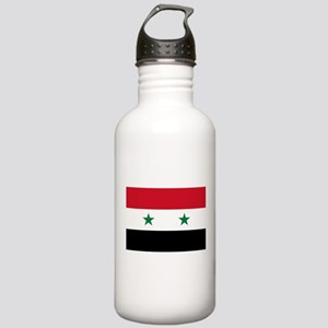 Syria Flag Stainless Water Bottle 1.0L