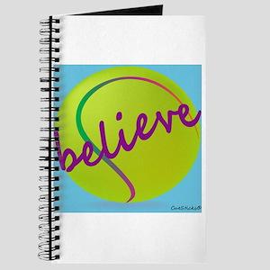 Believe (tennis ball) Journal