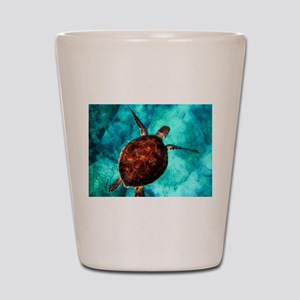 Sea Turtle Shot Glass
