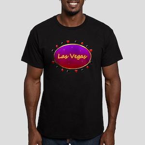 Fabulous Vegas Men's Fitted T-Shirt (dark)