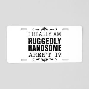 Kiki's Ruggedly Handsome Aluminum License Plate