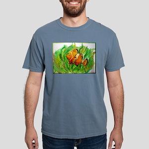 Tropical fish! Colorful art! Mens Comfort Colors S