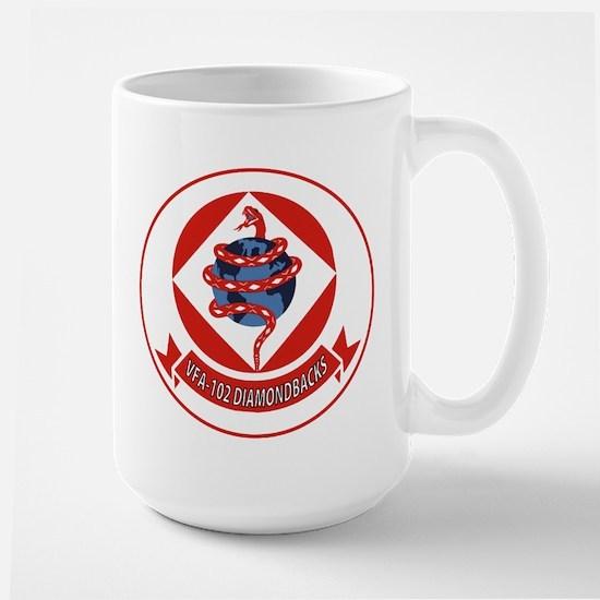 VFA 102 Diamondbacks Large Mug