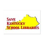 Save KY School Libraries Mini Poster