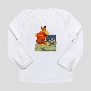 Soccer Moose Long Sleeve Infant T-Shirt