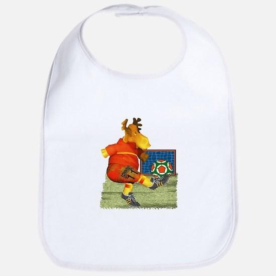 Soccer Moose Bib