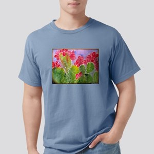 Cactus! Southwest art! Mens Comfort Colors Shirt
