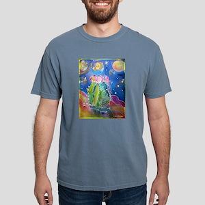 cactus at night! soutwest art! Mens Comfort Colors