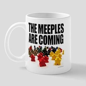 Meeples are Coming Mug