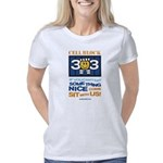 cel block white Women's Classic T-Shirt