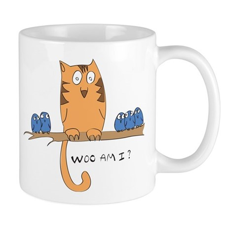 Woo am i? Mug