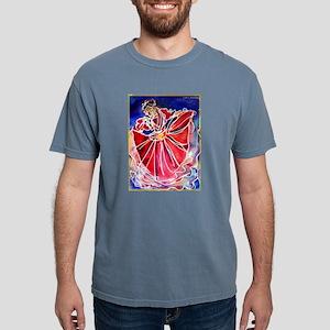 Fiesta! Colorful, Dancer! Mens Comfort Colors Shir