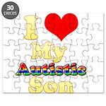 I Love My Autistic Son Puzzle