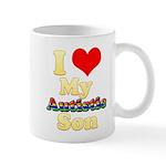 I Love My Autistic Son Mug