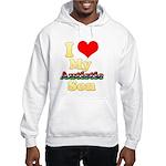 I Love My Autistic Son Hooded Sweatshirt