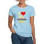 I Love My Autistic Son Women's Light T-Shirt