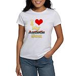 I Love My Autistic Son Women's T-Shirt