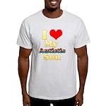 I Love My Autistic Son Light T-Shirt