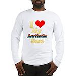 I Love My Autistic Son Long Sleeve T-Shirt