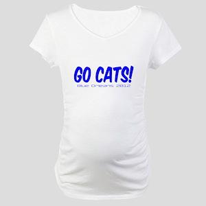 Blue Orleans Maternity T-Shirt