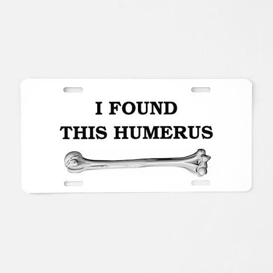 Funny Geek Aluminum License Plate