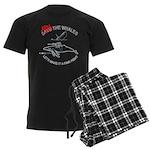 Arm the Whales Men's Dark Pajamas