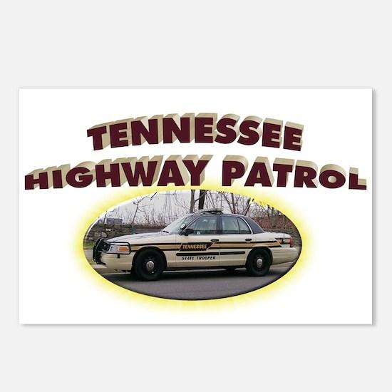 Tennessee Highway Patrol Postcards (Package of 8)