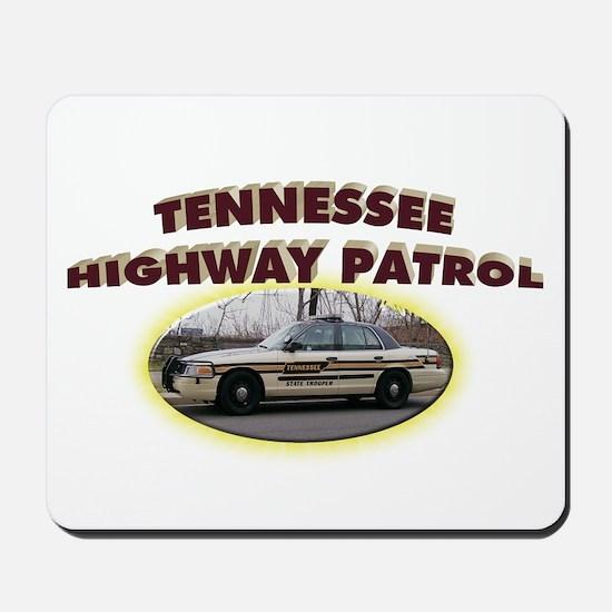 Tennessee Highway Patrol Mousepad