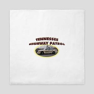 Tennessee Highway Patrol Queen Duvet