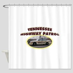 Tennessee Highway Patrol Shower Curtain