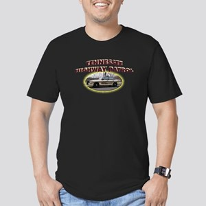 Tennessee Highway Patrol Men's Fitted T-Shirt (dar