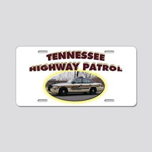 Tennessee Highway Patrol Aluminum License Plate