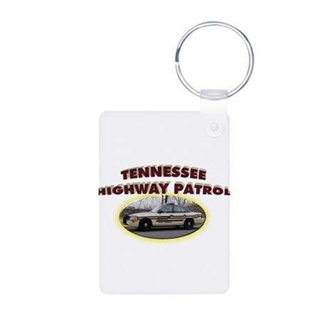 Tennessee Highway Patrol Aluminum Photo Keychain