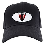 176th Engineer Black Cap